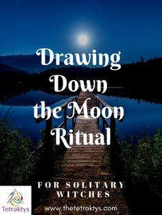 Drawing down the moon is one of the most sacred rituals of Wicca. In this article, you will learn what it is and how to do it on your own. Wiccan Witch, Magick, Islamic Art Calligraphy, Calligraphy Alphabet, Full Moon Spells, Drawing Down The Moon, Moon Meaning, Romancing The Stone, Witchcraft For Beginners