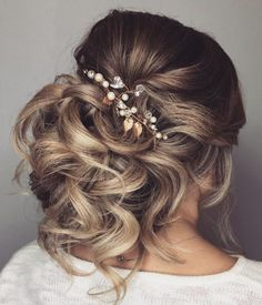 Wedding Hairstyle Inspiration - Hair