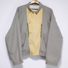 MADE IN ITALY DESIGN COTTON JACKET Size: (Italian) 52