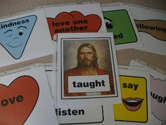 SINGING TIME IDEA: Singing in Primary- Great site with flip charts, signs and ideas!