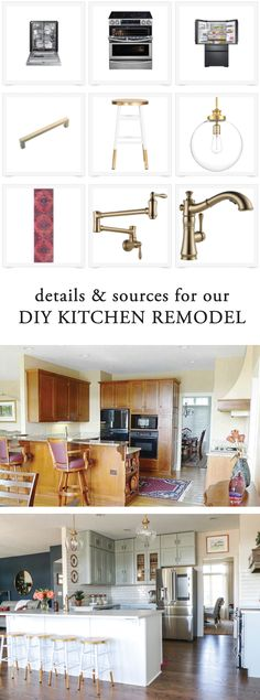 Details And Sources For Our DIY Kitchen Remodel.