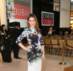 Irina Dumitrache - Annual ESMOD Graduation Fashion Show at Wafi Mall