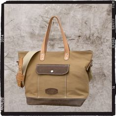 French Army Tent Tote  Bag // Recycled and Repurposed by peace4you, Germany// Model pauline-2104* READY TO SHIP *