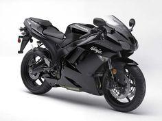 Kawasaki black + pink ~ I once had a Honda VTR I always wanted a Ninja! Motos Kawasaki, Kawasaki Ninja Zx6r, Kawasaki Motorcycles, Triumph Motorcycles, Custom Motorcycles, Super Bikes, Moto Rose, Suzuki Gs 500e, Moto Design