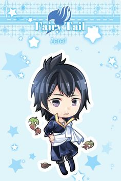 Fairy tail - zeref Trust the evilest villain to look adorable