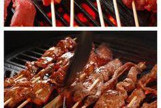 Terriyaki Beef Skewers