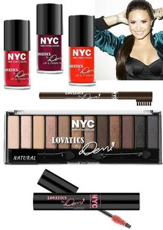Demi Lovato's Lovatics N.Y.C. New York Color Collection for Spring 2016 | http://www.musingsofamuse.com/2016/01/demi-lovatos-lovatics-n-y-c-new-york-color-collection-for-spring-2016.html