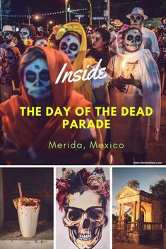 Photostory: Day of the Dead parade in Merida, Mexico