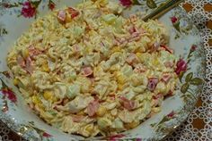Chinese Noodle Salads, Vegetable Salad, What To Cook, Yummy Appetizers, Bon Appetit, Pasta Salad, Diet Recipes, Food And Drink, Tasty