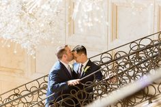 Andrew + Matt 💕 at the Four Seasons Resort Orlando at Walt Disney World. I love planning ALL weddings and that includes same-sex marriages. Love is love! Happy Pride Month to all my beautiful LGBTQ friends, family, and clients! Click to see more of this beautiful, intimate wedding. P.S. Does anyone else notice how the chandelier in the foreground evokes those proverbial fireworks? Magic! Four Seasons Orlando, Orlando Wedding Venues, Wedding Design Inspiration, Wedding Kiss, Orlando Resorts, Wedding Events, Weddings, Wedding Officiant, Wedding Designs
