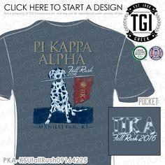 Pi Kappa Alpha | Pike | ΠΚΑ | Recruitment | Fall Rush | Recruitment T-shirt | Recruitment Tees | Rush Tees | Rush T-shirts | Greek Recruitment | Custom Greek Apparel | TGI Greek | Greek Apparel | Custom Apparel | Fraternity Tee Shirts | Fraternity T-shirts