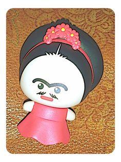 MINI FRIDA KAHLO Perception, Beautiful Things, Hello Kitty, Disney Characters, Fictional Characters, Minnie Mouse, Mini, Frida Kahlo, Mini Mouse