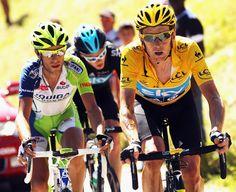 Tour de France 2012. 18-07-2012, 16^Tappa. Pau - Bagnères-de-Luchon. Bradley Wiggins (1980), Chris Froome (1985) e Vincenzo Nibali (1984) sui Pirenei.