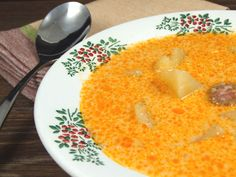 Romanian Food, Romanian Recipes, European Dishes, Potato Soup, Soul Food, Macaroni And Cheese, Food To Make, Food And Drink, Potatoes