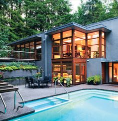 west coast homes: a study in sustainability, simplicity and harmony with nature | refresheddesigns.sustainable design
