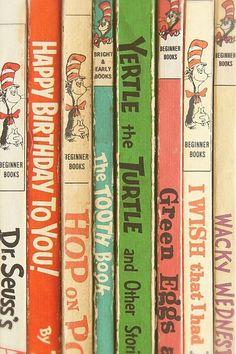 Dr Seuss Vintage Books