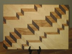 Chevron Steps Board - by SPalm @ LumberJocks.com ~ woodworking community