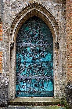 St. Ottilien Archabbey, Landsberg, Oberbayern, Germanylove the intricate scrollwork