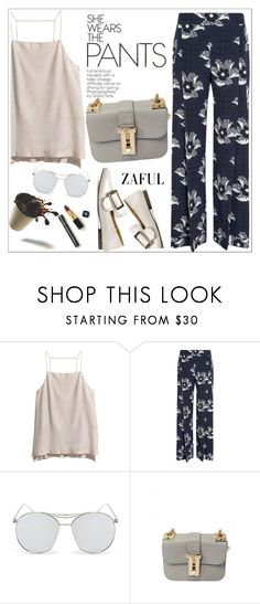 """""""Zaful"""" by teoecar ❤ liked on Polyvore featuring H&M, Zimmermann, Victoria Beckham and zaful"""