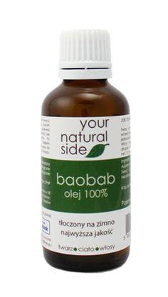 Olej z baobabu. Podobno lepszy niż arganowy :) Your Natural Side.