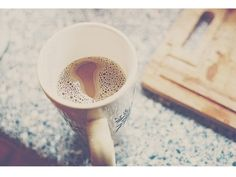 A cup coffee in the morning is a blissfulness life from God