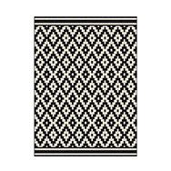 tapis noir et blanc tapis de sol tapis ikea tapis pas. Black Bedroom Furniture Sets. Home Design Ideas