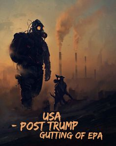 Post apocalyptic survivor with his dog Post Apocalypse, Apocalypse Aesthetic, Apocalypse World, Nuclear Apocalypse, Apocalypse Survival, Dark Fantasy Art, Sci Fi Fantasy, Gas Mask Art, Masks Art