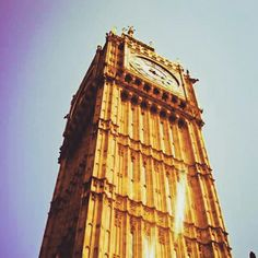 Blast from the Past!  #london #bigben #sunny #summer #architecture #travel #ulala #wanderlust
