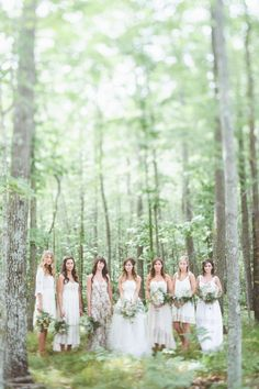 Photography : Paper Antler Read More on SMP: http://www.stylemepretty.com/2014/03/05/rustic-woodland-wedding-at-juliane-james-place/