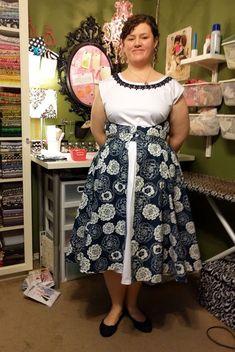 Aux Belles Choses: Altered Walkaway Dress