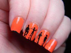 Toxic Vanity: Día 2 : Naranja / Clockwork Orange nail art