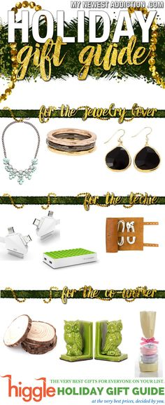 Higgle Holiday Gift Guide - My Newest Addiction Beauty Blog #higglefortheholidays #ad http://www.mynewestaddiction.com/2014/11/higgle-holiday-gift-guide.html