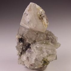 Calcite, Epidote and Quartz Crystal Specimen, Brandberg Goboboseb Namibia