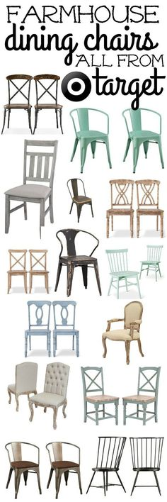Farmhouse Dining Chairs   Liz Marie   Bloglovin'