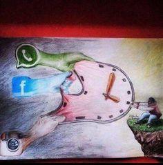 هكذا يسرق وقتنا منا !