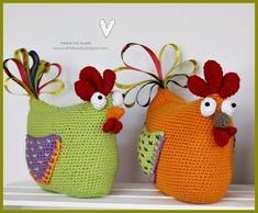 Skapa och Inreda: Beskrivning, mönster till tavla med virkade ugglor och ballonger Crochet Santa, Crochet Toys, Animal Knitting Patterns, Crochet Patterns, Christmas Crafts For Kids To Make, Easter, Diy, How To Make, Decor