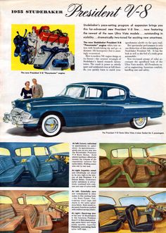 1955 Studebaker President State 4-Door Sedan