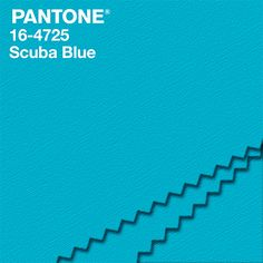 """""""An invigorating turquoise, PANTONE 16-4725 Scuba Blue conveys a sense of carefree playfulness.Even though a cool shade, the vibrancy of Scuba Blue adds a splash of excitement to the palette."""" #NYFW  #FashionColorReport #PANTONE - Leatrice Eiseman Executive Director, Pantone Color Institute®"""