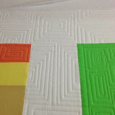 My new favorite quilting design for borders....making some progress today! | Flickr - Photo Sharing!