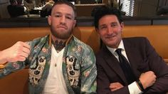 Meet David August Heil the person who clothes Conor McGregor for fulfillment