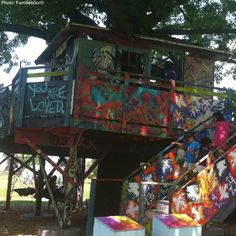 Governors islandI tree house in NYC