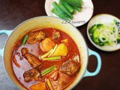 韓式馬鈴薯燉排骨湯