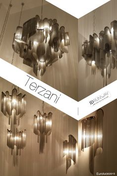 TERZANI | ID RUNWAY . #euroluce 2015, #salone del mobile 2015, #lighting design trend, #lamp trend.