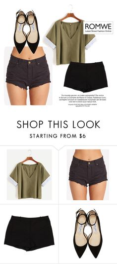 """Bez naslova #106"" by florawinx7 ❤ liked on Polyvore featuring Billabong, L'Agence and Jimmy Choo"