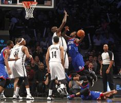 Philadelphia 76ers vs. Brooklyn Nets - 4/5/14