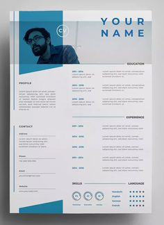 Your resume is one of your best marketing tools. The goal of your resume is to tell your individual story in a compelling way that drives prospective employers to want to meet you. Portfolio Web, Portfolio Resume, Resume Design Template, Resume Templates, Template For Cv, Design Templates, Creative Cv Template, Conception Cv, Cv Inspiration