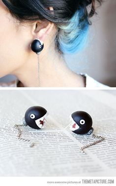 Chain Chomp Earrings