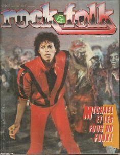 Rock & Folk N°207 - Michael Jackson et les fous du Funk + poster - avril…