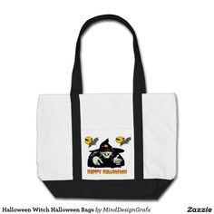 Halloween Witch Halloween Bags