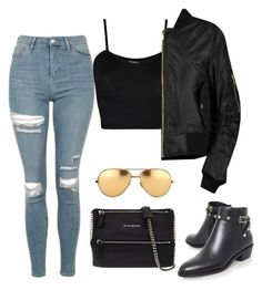 """""""Untitled #183"""" by gr20gk on Polyvore featuring Topshop, WearAll, Valentino, Givenchy and Linda Farrow"""
